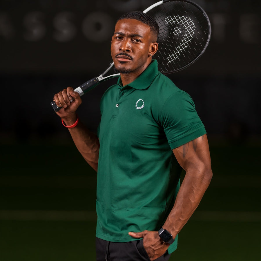 Velocity Polo Shirt- Green - EVOLVE FASHION