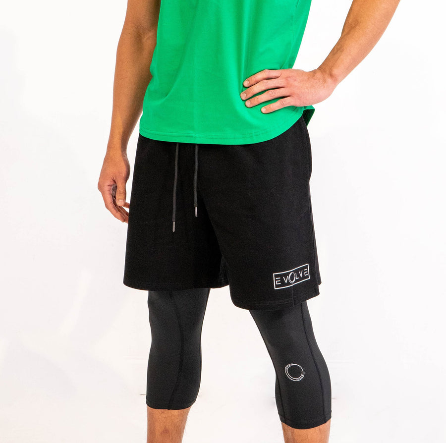 Velocity Shorts - Black - EVOLVE FASHION
