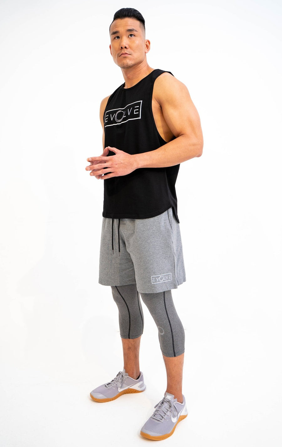 Velocity Shorts - Grey - EVOLVE FASHION