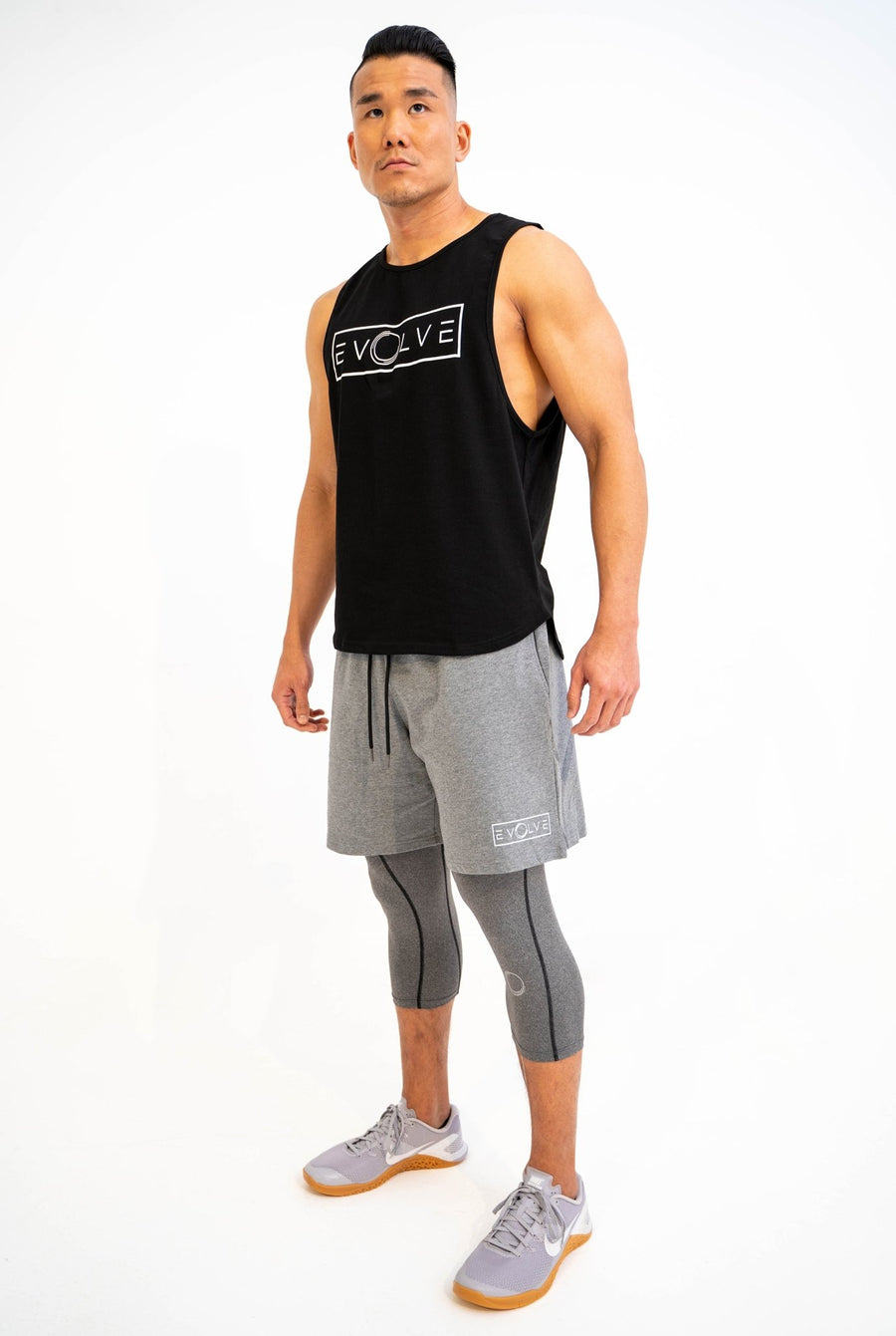 Velocity Tank - Black - EVOLVE FASHION