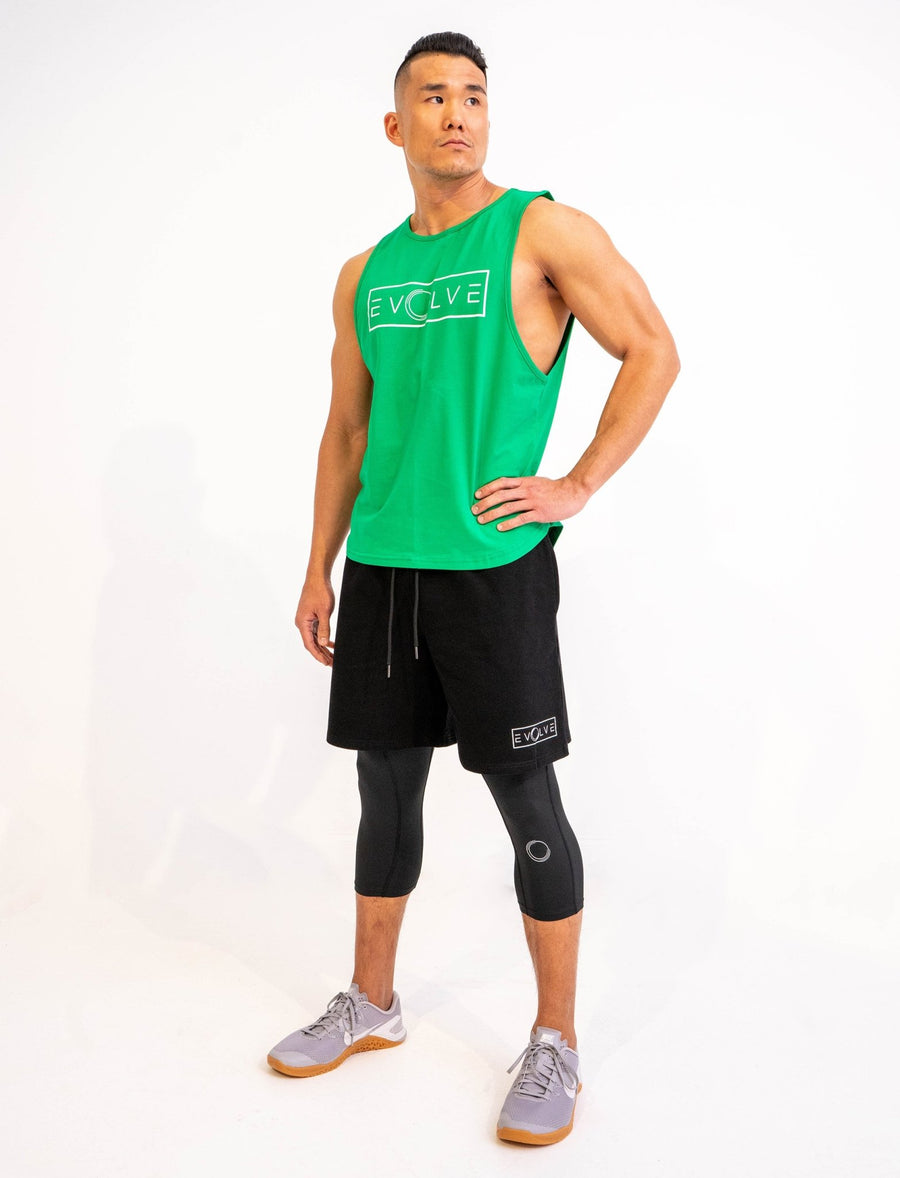 Velocity Tank - Green - EVOLVE FASHION