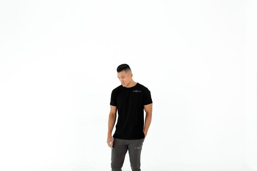 Velocity Tee - Black - EVOLVE FASHION