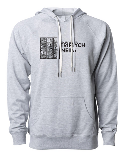 Triptych Unisex Lightweight Hooded Sweatshirt