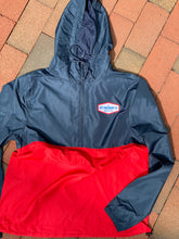 Load image into Gallery viewer, Key Windbreaker Jacket Red/Blue