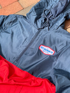 Key Windbreaker Jacket Red/Blue