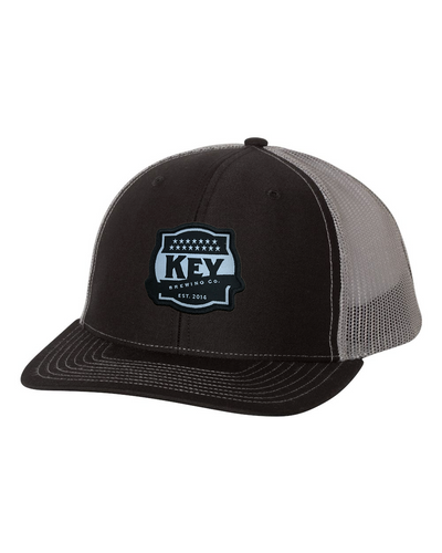 Key Black/gray Snapback Trucker Cap