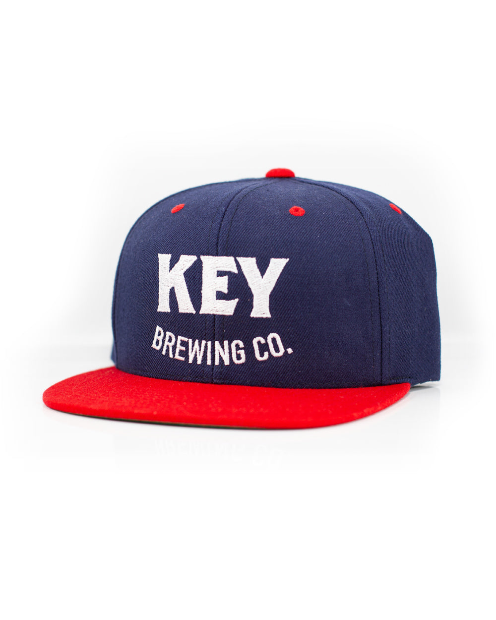Key Embroidery Snapback Cap