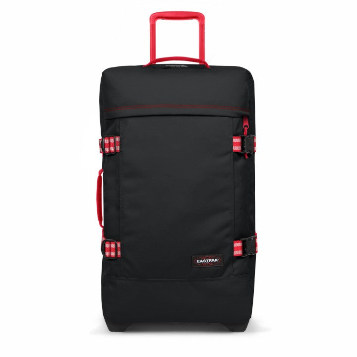 Eastpak Tranverz M Medium 2019 Blackout Dark Black / Red