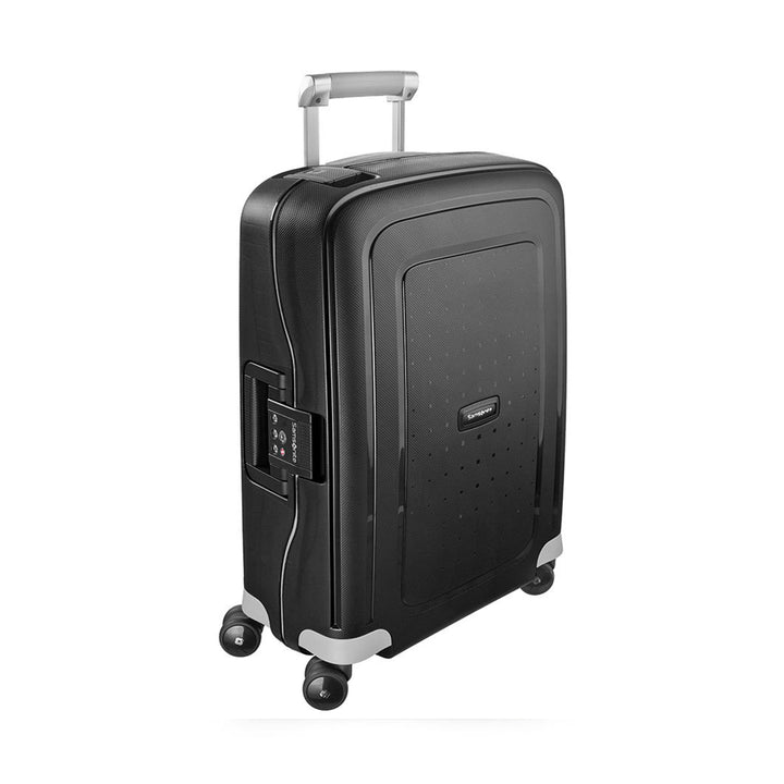 Samsonite S'Cure Cabin 55cm Spinner Black