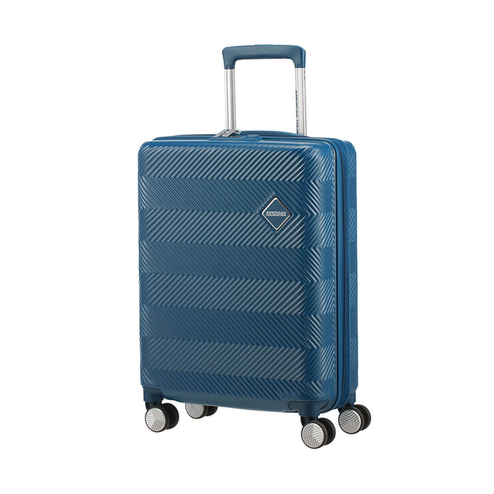American Tourister Flylife 55cm Cabin Spinner Petrol Blue