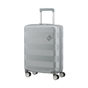 American Tourister Flylife 55cm Cabin Spinner Sky Silver