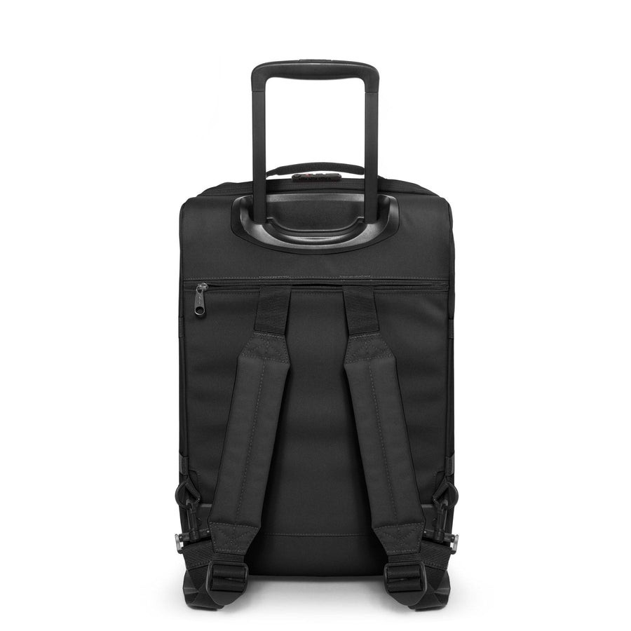 Eastpak Strapverz S Small Cabin Black Wheeled Backpack