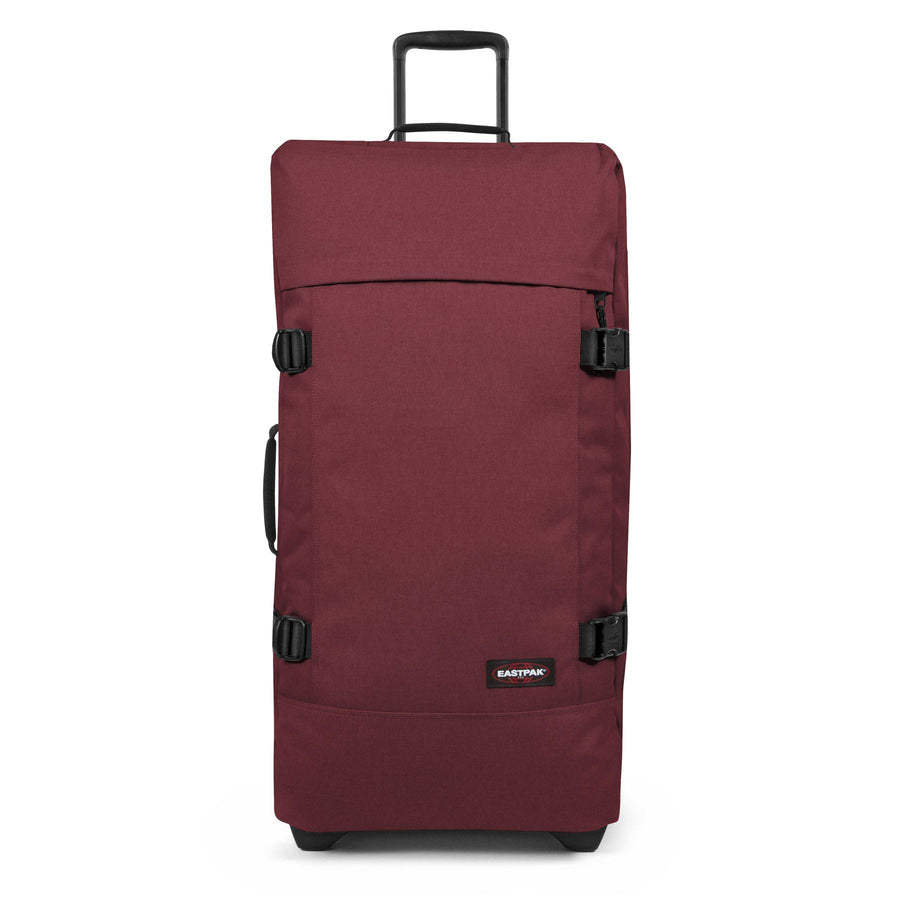 Eastpak Tranverz L Large Crafty Wine Red Wheeled Luggage