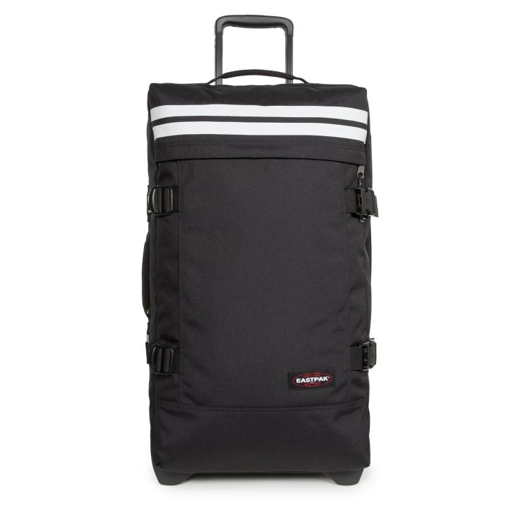 Eastpak Tranverz L Large Reflective Black Wheeled Luggage
