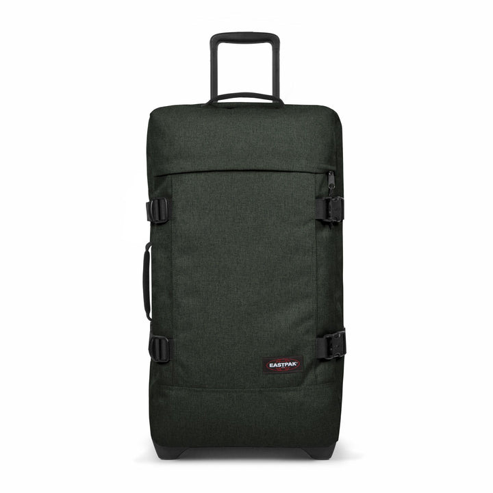 Eastpak Tranverz M Medium Crafty Moss Green Wheeled Luggage