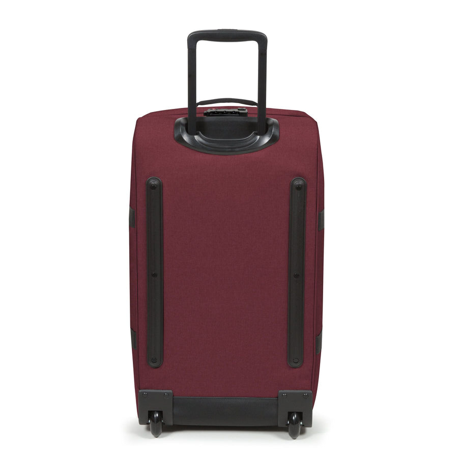 Eastpak Tranverz M Medium Crafty Wine Red Wheeled Luggage