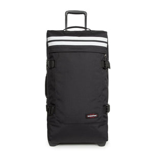 Eastpak Tranverz M Medium Reflective Black Wheeled Luggage