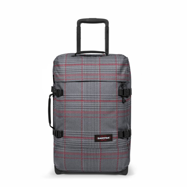Eastpak Tranverz S Small Cabin Chertan Red Wheeled Luggage