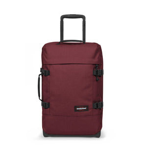 Eastpak Tranverz S Small Cabin Crafty Wine Red Wheeled Luggage