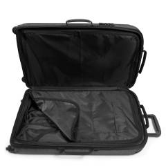 Eastpak Tranzshell M Medium Black Denim Spinner Luggage
