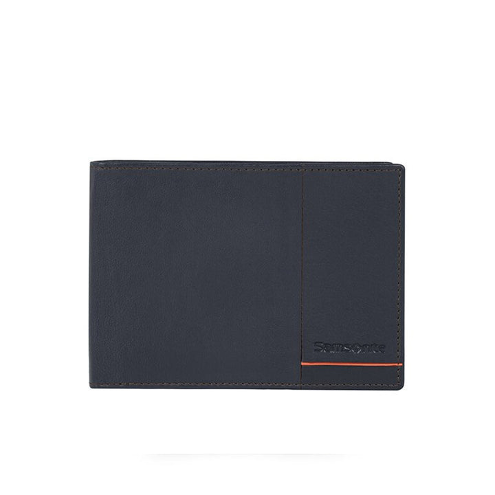 Samsonite Outline 2 SLG Wallet Night Blue / Chili