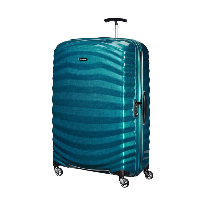 Samsonite Lite-Shock 81cm Spinner Petrol Blue