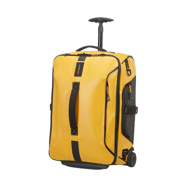Samsonite Paradiver Light Duffle With Wheels 55cm Yellow