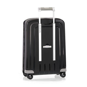 Samsonite S'Cure Cabin 55cm Spinner - Black Bag Back View