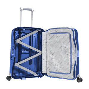 Samsonite S'Cure Cabin 55cm Spinner - Dark Blue Bag Inside View