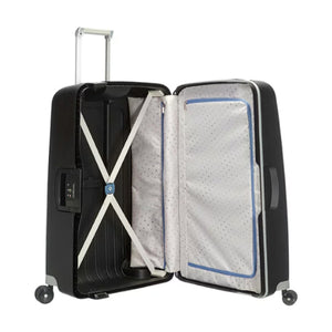 Samsonite S'Cure L 75cm Spinner - Black Bag Inside View