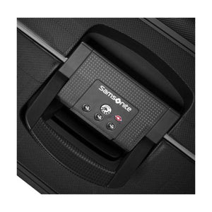 Samsonite S'Cure L 75cm Spinner - Black Bag Lock Detail