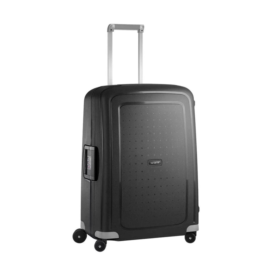 Samsonite S'Cure M 69cm Spinner - Medium Black Suitcase