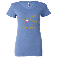 Load image into Gallery viewer, Wine & Wisdom Women's Triblend Short Sleeve Tee