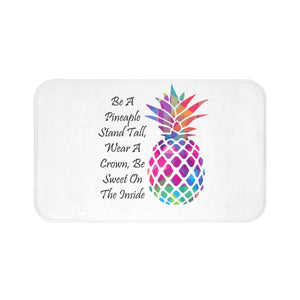 Be A Pineapple Bath Mat