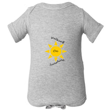 Load image into Gallery viewer, Walking On Sunshine Infant Fine Jersey Bodysuit