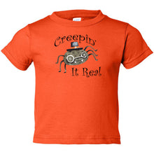 Load image into Gallery viewer, Creepin' Toddler Cotton Jersey Tee