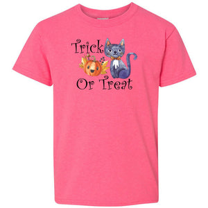 Trick or Treat Heavy Cotton Youth T-Shirt