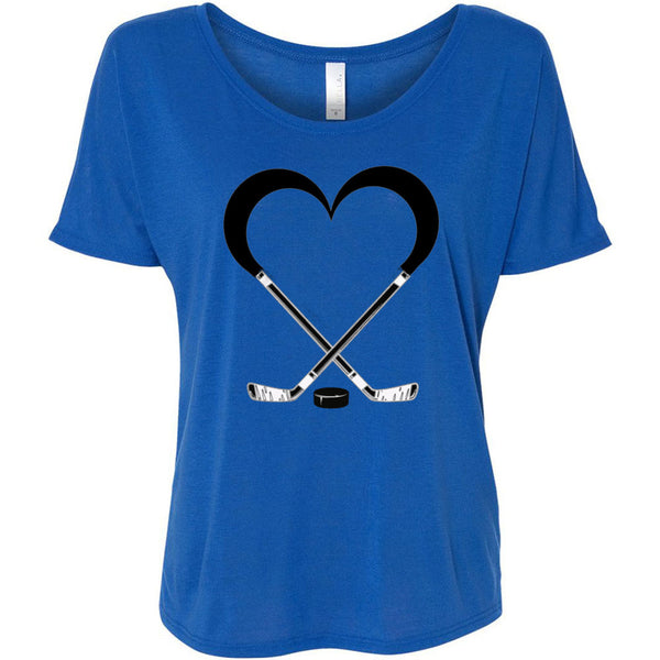 Love Hockey Women's Slouchy Tee