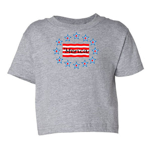 'Merica Toddler Cotton Jersey Tee