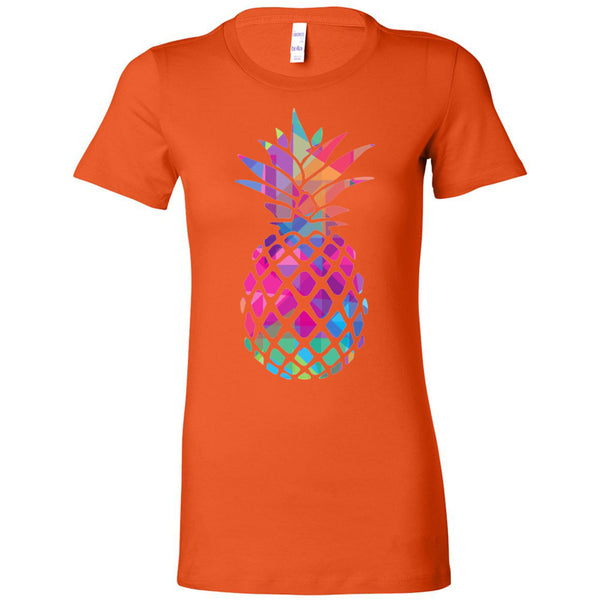 Rainbow Pineapple Women's The Favorite Tee