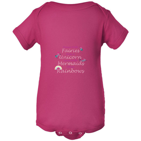 Dance With Fairies Infant Fine Jersey Bodysuit