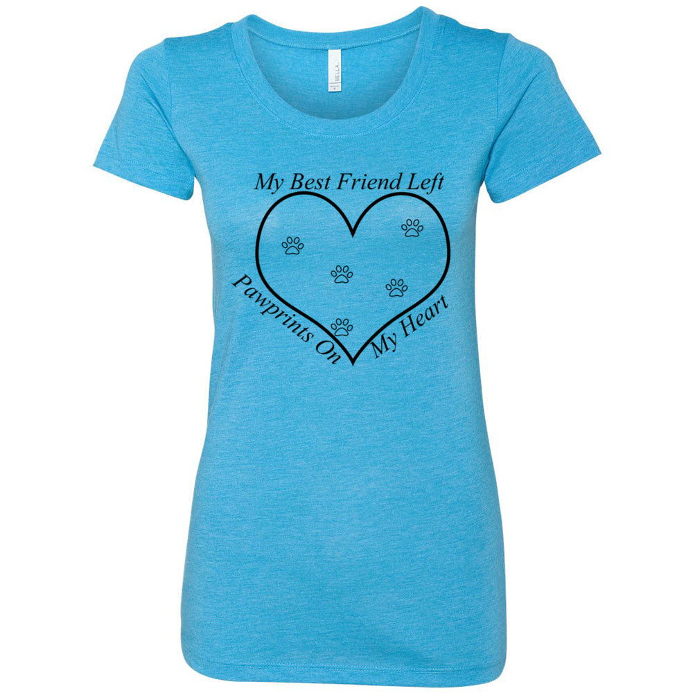 PawPrints Women's Triblend Short Sleeve Tee