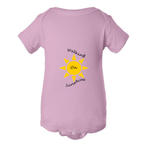 Walking On Sunshine Infant Fine Jersey Bodysuit