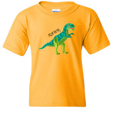 Load image into Gallery viewer, RAWR Cotton Youth T-Shirt