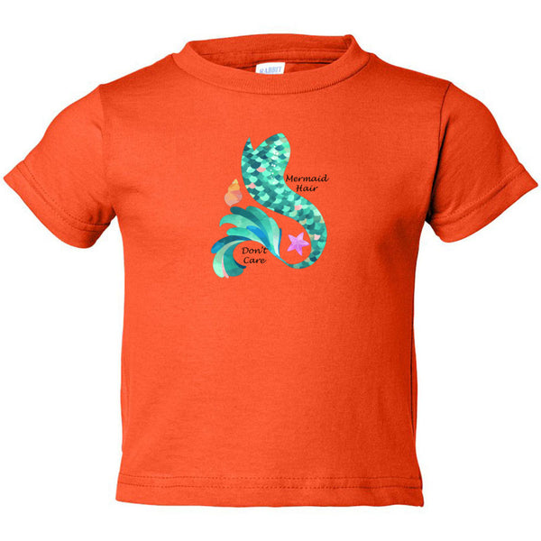Mermaid Hair Toddler Cotton Jersey Tee