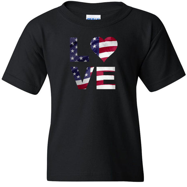Love USA Gildan - Heavy Cotton Youth T-Shirt