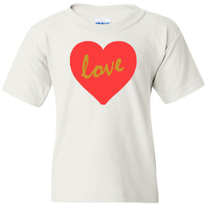 Love Heavy Cotton Youth T-Shirt