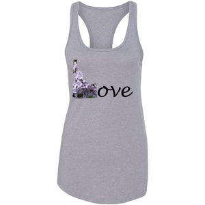 Love Idaho Women's Ideal Racerback Tank