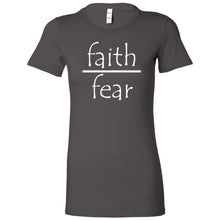 Load image into Gallery viewer, Faith Over Fear Women's The Favorite Tee