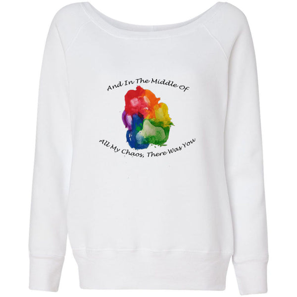 Chaos Women's Sponge Fleece Wideneck Sweatshirt